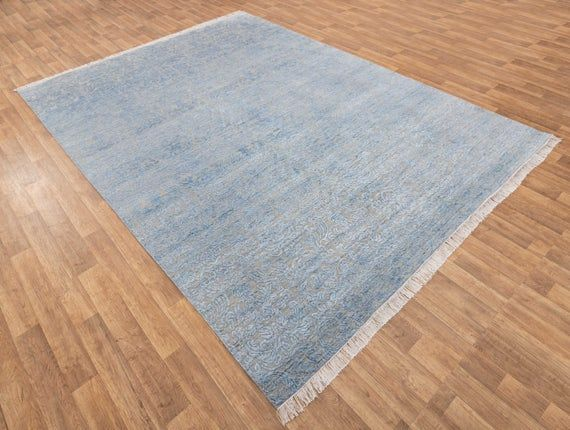 9×12 Rug Persian Modern Rug Wool and Silk Carpet/Alfombra/Teppich/Tapis/ковер/tappeto/tæppe/mattateppe #134