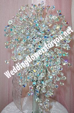 i saw this once at a wedding and it was prettyCrystals Cascading, 30 Crystals, Crystals Colors