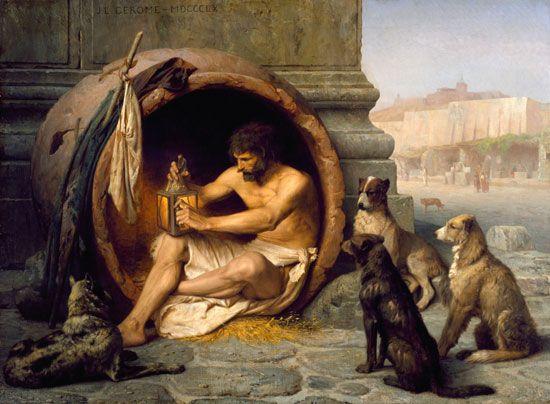 Ο ανατρεπτικός φιλόσοφος που προκάλεσε τις αξίες της εποχής του και θαυμάστηκε από τον Μέγα Αλέξανδρο.