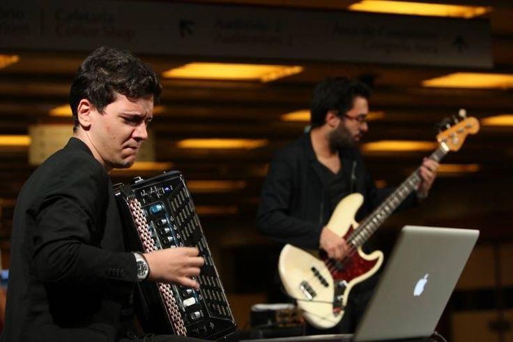 Rocking with João Barradas! At Gulbenkian 🤘🏻