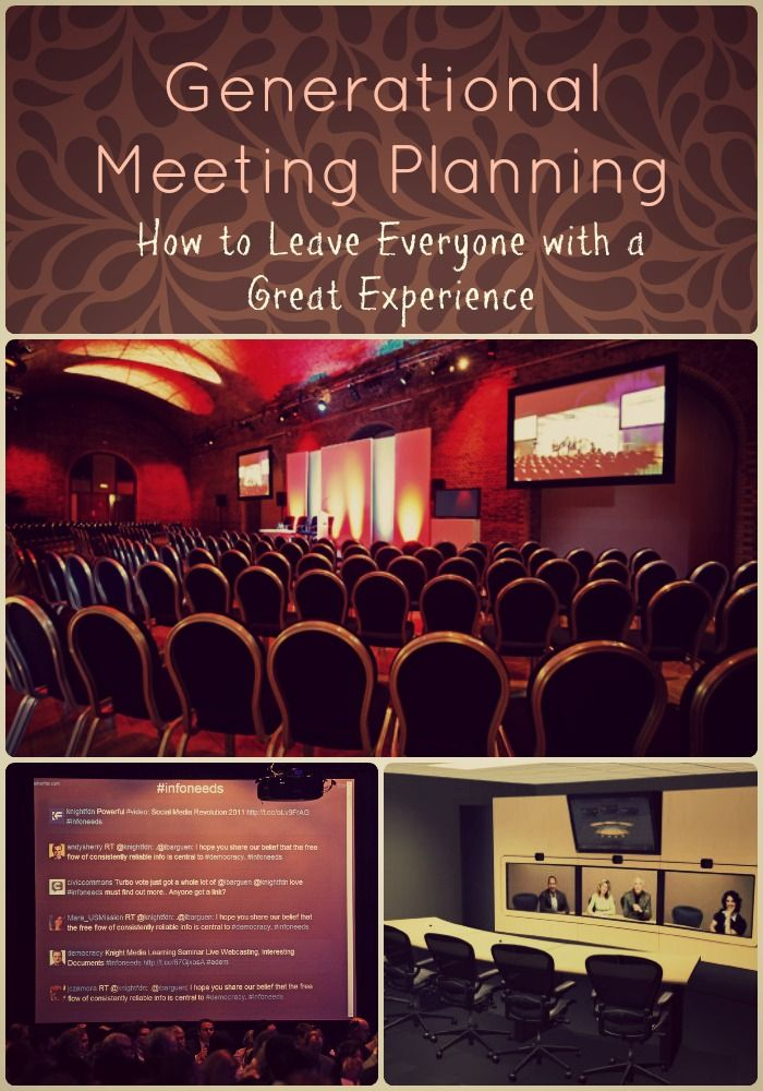 Generational Meeting Planning: How to Leave Everyone with a Great ExperienceHigh Line Planning