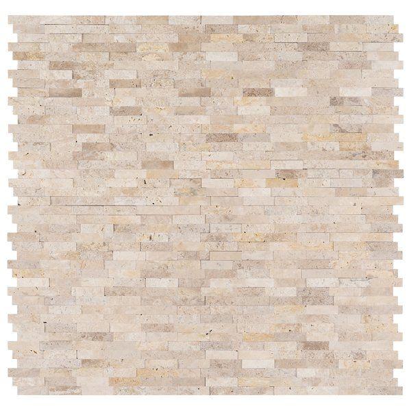 Roman 12 X 12 Travertine Peel Stick Mosaic Tile Travertine Mosaic Tiles Stick On Tiles Adhesive Backsplash