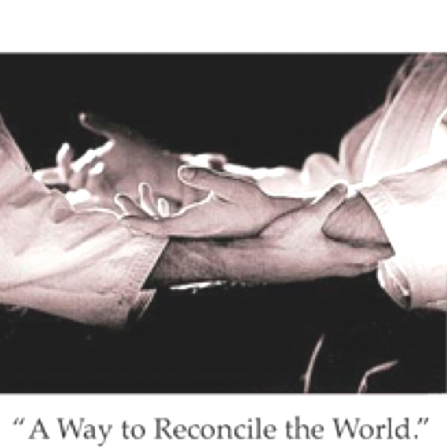 """""""A way to Reconcile the world"""" Quote by Morihei Ueshiba - The Founder of Aikido"""