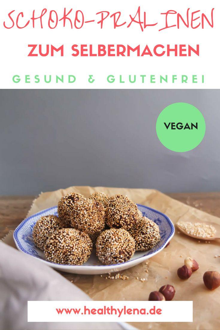 # glutenfrei #pralinen #gesund # fettarm #schoko #selber