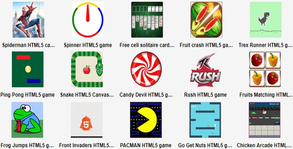 40 HTML5 Game Bundle