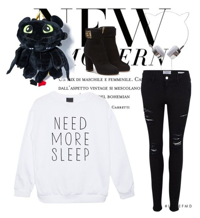 """Sleepless Night"" by thestrawberrytales on Polyvore featuring Frame Denim and Salvatore Ferragamo"
