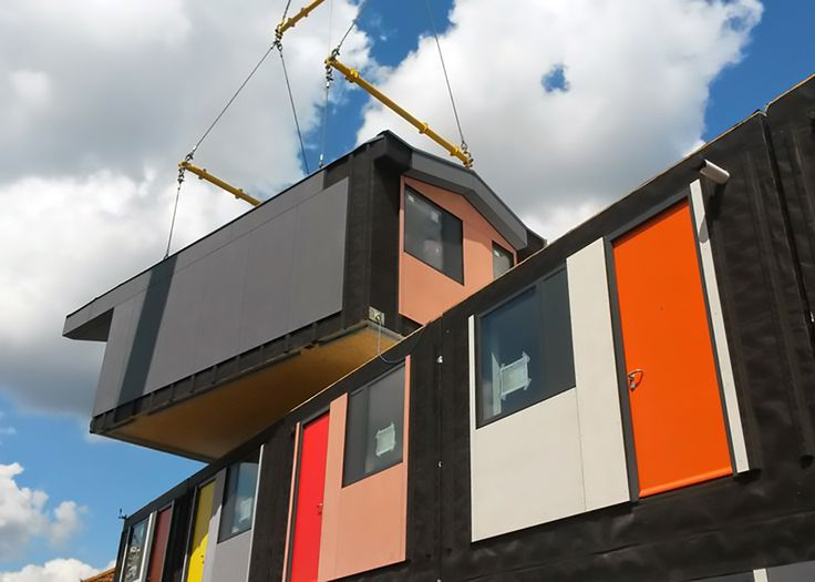 Y:Cube: affordable, colorful, and humane housing for London's homeless | Inhabitat - Sustainable Design Innovation, Eco Architecture, Green Building