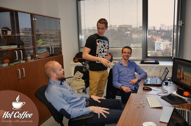 Rišo, Erik and Matej are dealing with the project.