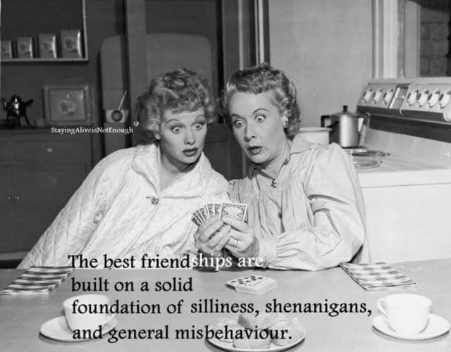 i love lucy quotes about friendship