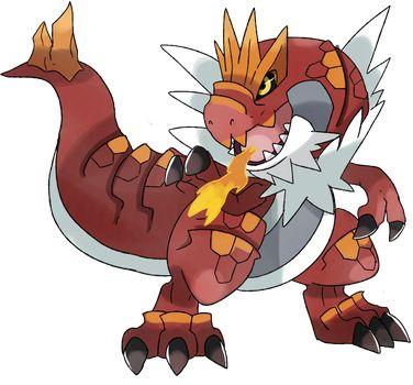 Pokemon Tyrantrum by Phatmon