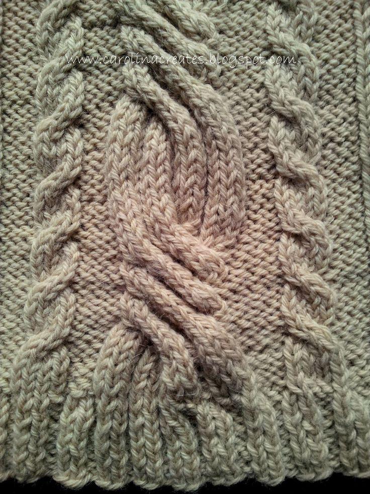 Carolina Creates - knitting / cables ( na drutach, warkocze)