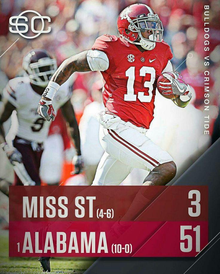 Alabama vs M.S.U.