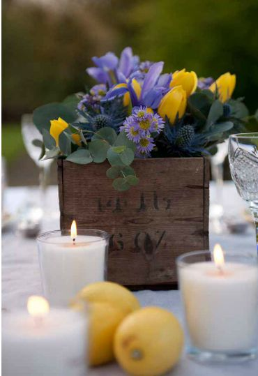 Ideas about lemon centerpieces on pinterest