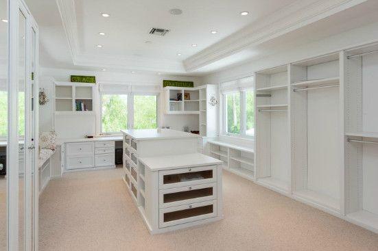 California Closet from Olivia Newton-John's FL home