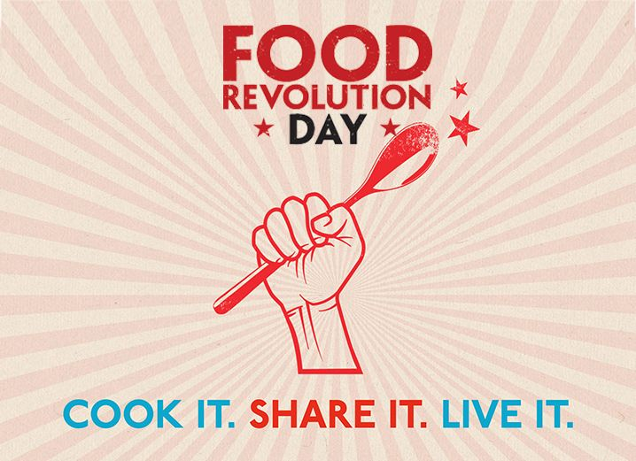 Jamie Olivers Food Revolution Day 2013
