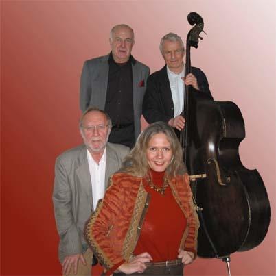 Ragna Fagelund Quartet Photo: Hans Jung http://www.opusnorden.com/se/jazzsv/rfquartet/