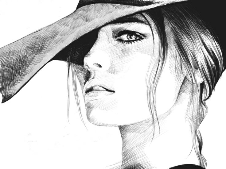741 best fashion faces images on pinterest drawing ideas