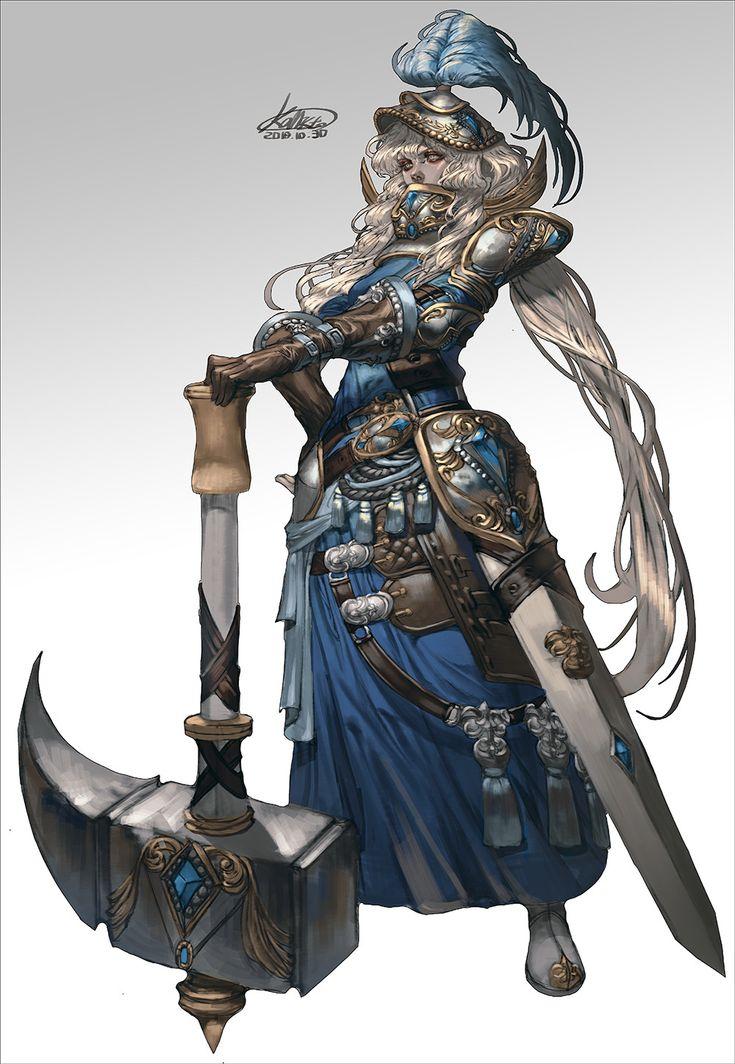 Épinglé par Dave Couture sur Fantasy RPG Characters (avec