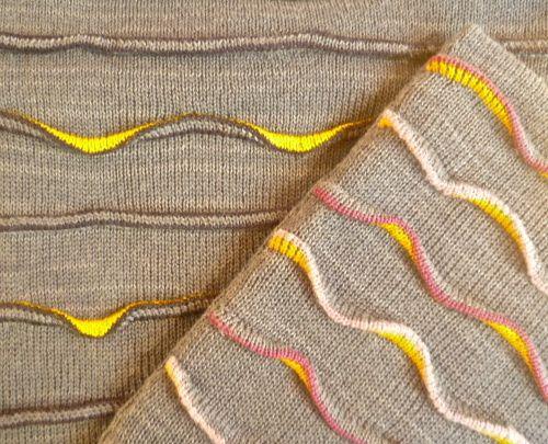 Morris, Kathleen (Academic)'s Portfolio - machine knits