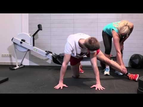 Trening w domu w ramach przygotowań do biegów górskich - YouTube