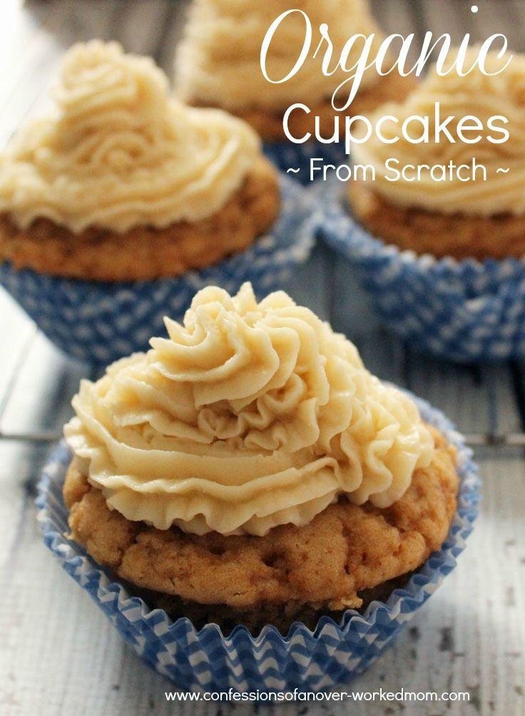 Try this delicious Organic Cupcake #recipe from scratch #sponsored @Andrea / FICTILIS Townsend Sweeteners  http://www.confessionsofanover-workedmom.com/2014/03/organic-cupcake-recipe-scratch.html