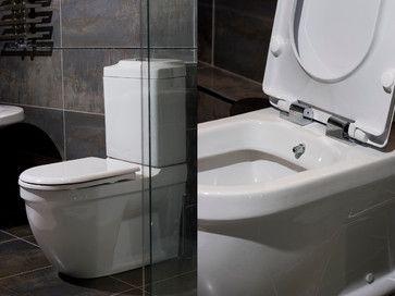 Great Bathroom Design Enchanting Toilet And Bidet Combination In Modern Bathroom.  Bidet System, Toilet And Bidet, Bathroom Designs