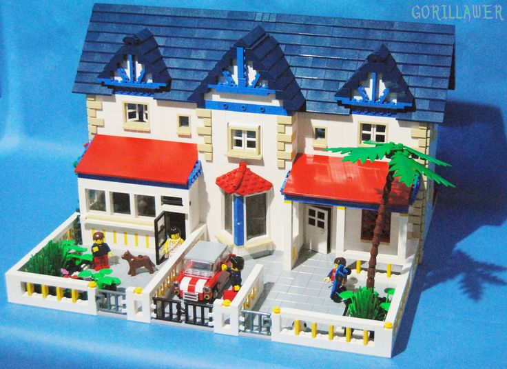 Lego English house XIX