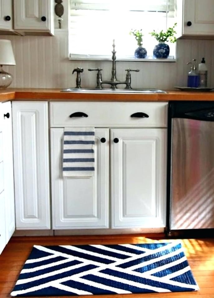 blue kitchen rugs island design ideas gorgeous washable with rubber backing illustrations new and 86
