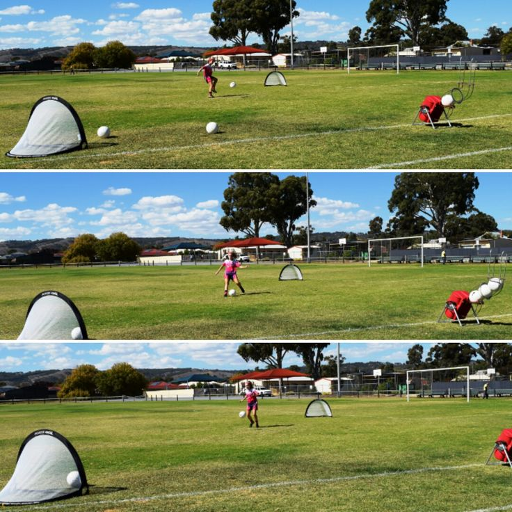 Strengthen player's skills and fitness levels by simulating actual drills using the repeat function that will send a ball at set intervals until the feeder is empty without having to press the remote continually. Powapass will improve player's confidence. Email sales@powasports.com for more information. #soccer #football #training #sport #fitness #keepers #coaches #players #ball #machine #adelaideunited #socceroos #skills #drills