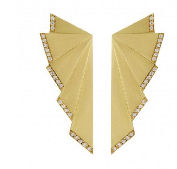 """Ileana Makri """"Fan Earrings"""""""