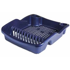 Wilko Colour Play Dish Drainer Blue