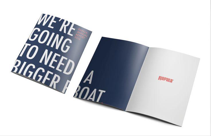 Ознакомьтесь с этим проектом @Behance: «Rapala Annual Report» https://www.behance.net/gallery/44707925/Rapala-Annual-Report