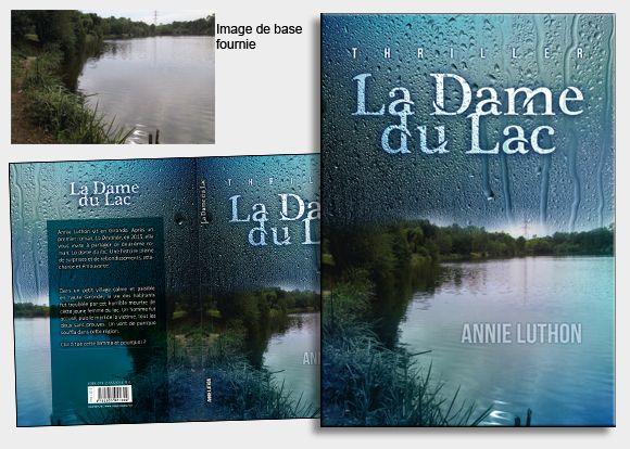 L'auteure nous a fourni une prise de vue d'un étang bien spécifique au thriller. Pour faire ressortir le côté glauque de l'histoire, nous avons travaillé sur les couleurs, et la fusion de l'image avec des gouttes de pluie sur une vitre. Une ambiance bien froide ! #coverbook