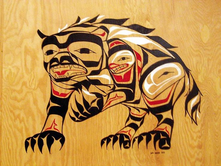 native-art-wolverine