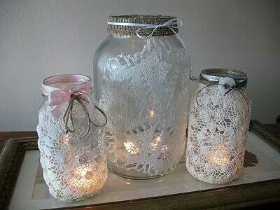 Mason Jar Night Light Craft Ideas