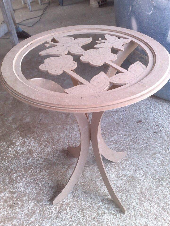 Country madera Painting table