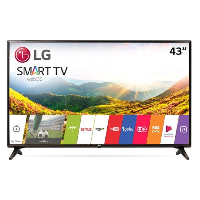 Smart Tv Led 43 Lg Full Hd 43lj5550 Wi Fi Painel Ips Webos 35