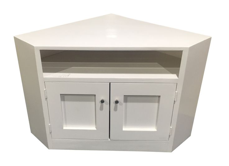 CORNER TV STAND - ASSORTED PAINTED COLOURS AVAILABLE