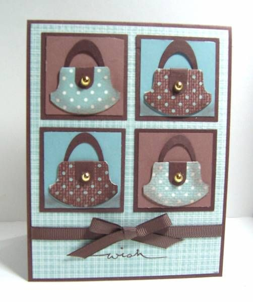 Great use of the Stampin' Up tab punch!