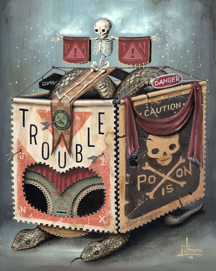 Trouble by Jason Limon, via From up North