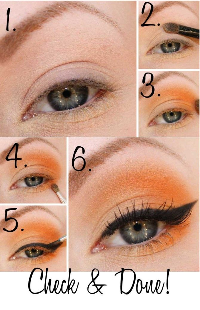 framhäv blå ögon tutorial