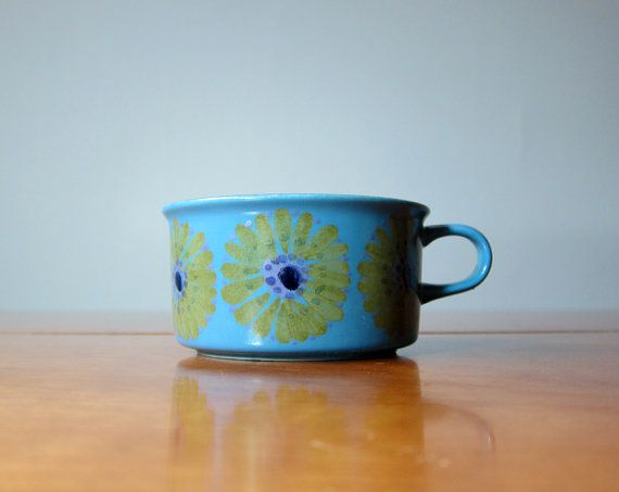 Arabia of Finland teacup handpainted by Hilkka-Liisa Ahola