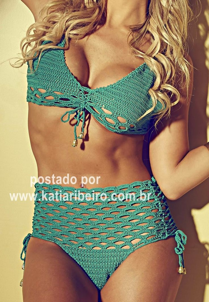 Katia Ribeiro Acessórios: Biquini Verano com receita e gráfico