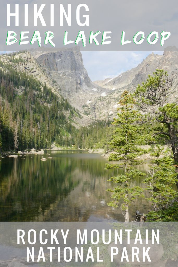 With hiking trails like Bear Lake Loop, it's easy to see why Rocky Mountain National Park is one of the most popular destinations in the United States.   Bear Lake | RMNP | Rocky Mountain National Park | Colorado | Estes Park | United States | Hiking | Camping | Bear Lake Loop