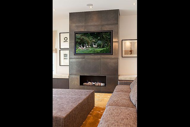 Hunter's Hill #mansion #fireplace designed by Chateau Architects