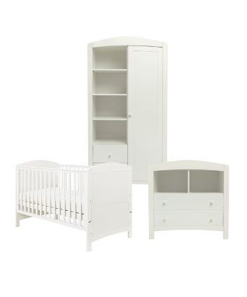 Mothercare Taunton 3-piece Nursery Furniture Bundle