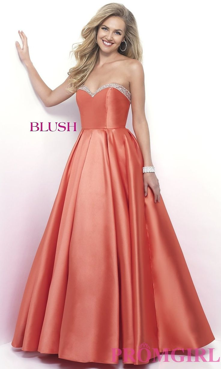 49 best Prom/Formal * Peach, Coral, & Orange Dresses images on ...