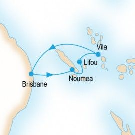 Pacific Island Hopper P&O Cruises cruise Length 7 nights Ship P&O - Pacific Dawn Departs 19/04/2014 Quad Cabin from $850 per person