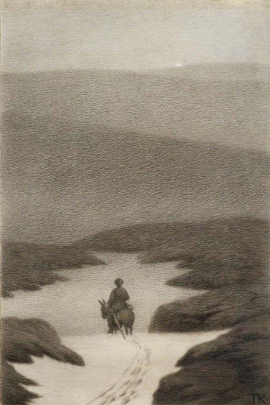 Theodor Severin Kittelsen (1857-1914), Soria Moria Slott - 1911