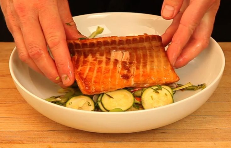 how to cook salmon in sous vide